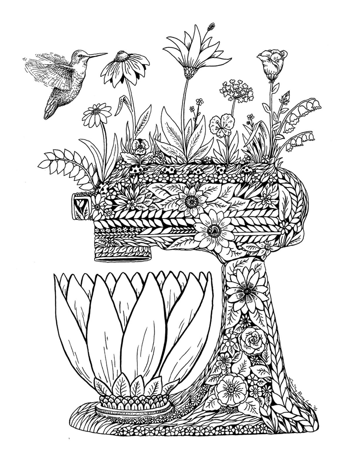 Flower Mixer