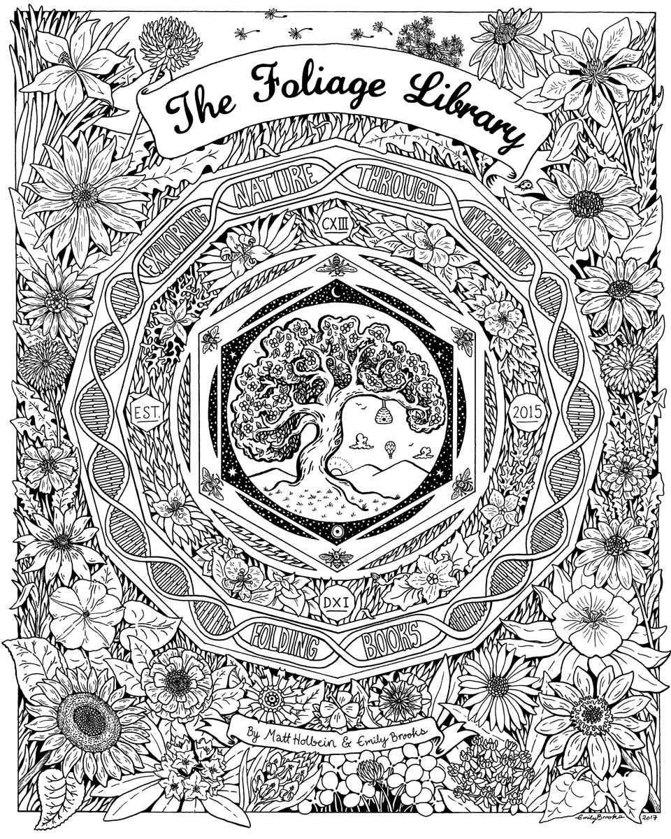 Flowers of The Foliage Library