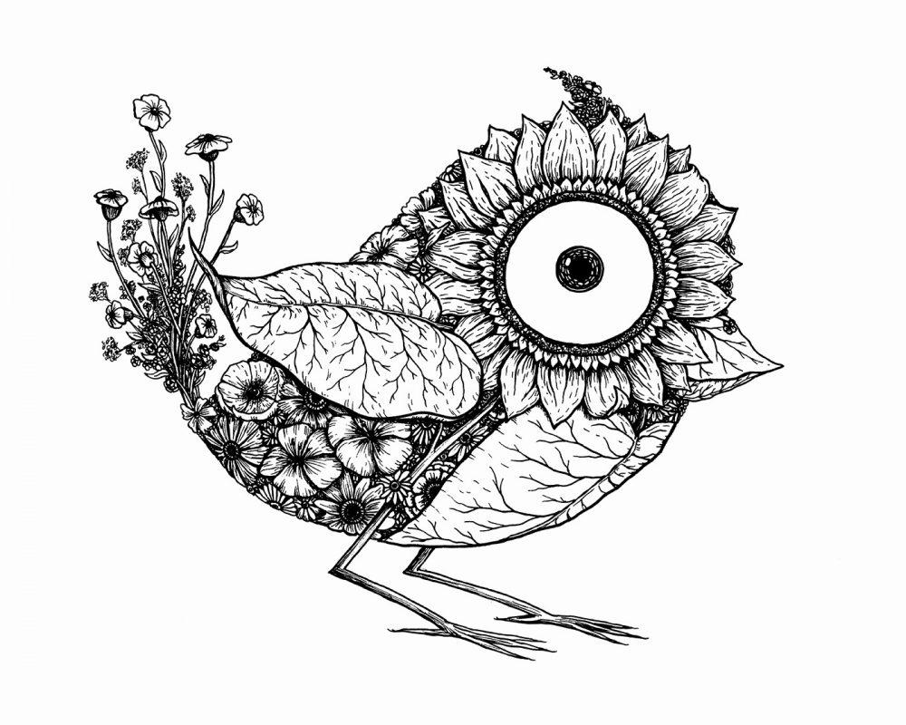 Botanical Birds