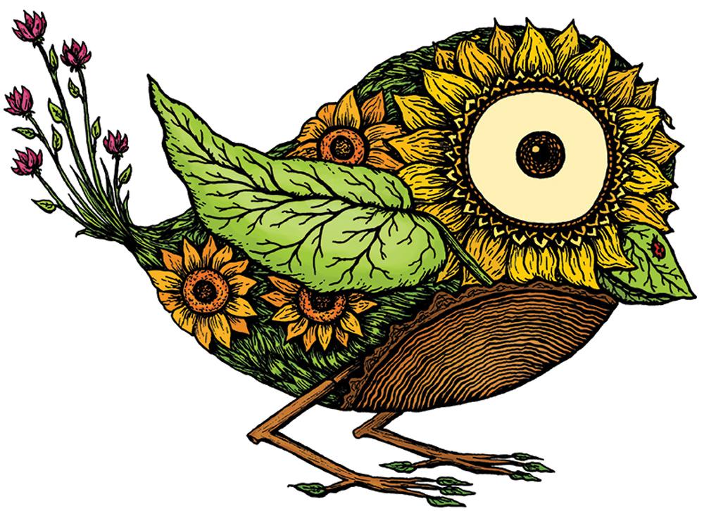 Botanic Birds