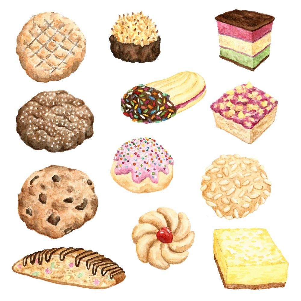 cookie-watercolor
