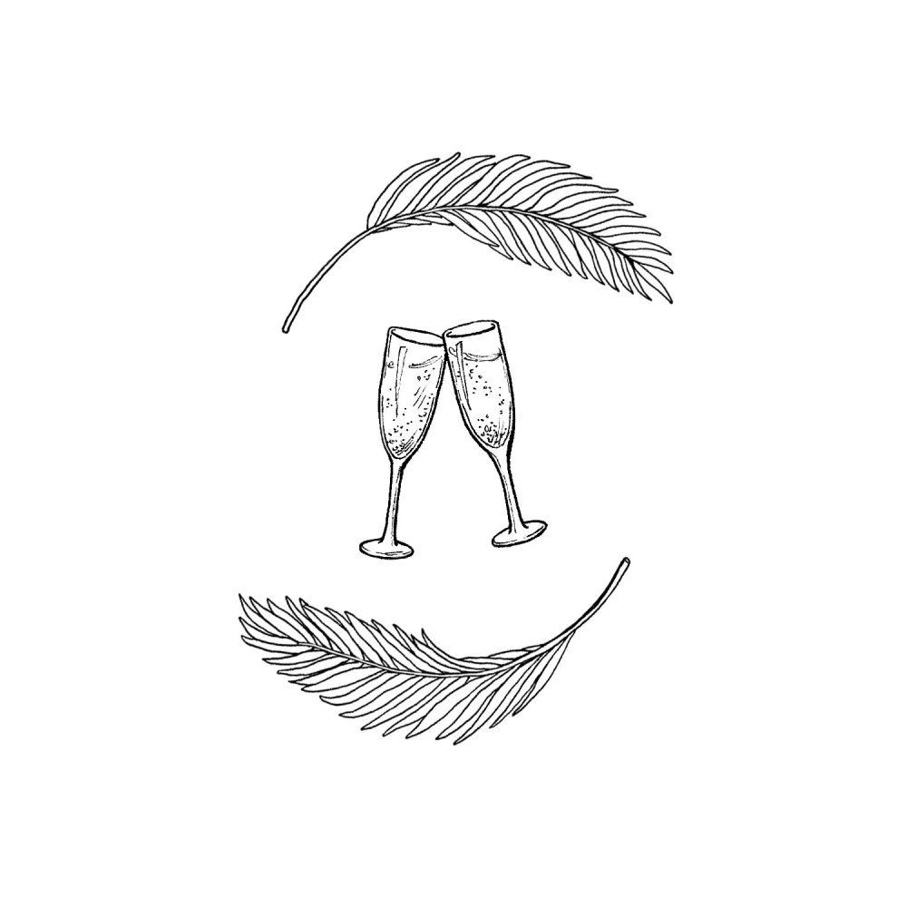 wedding_toile_leaves-glasses